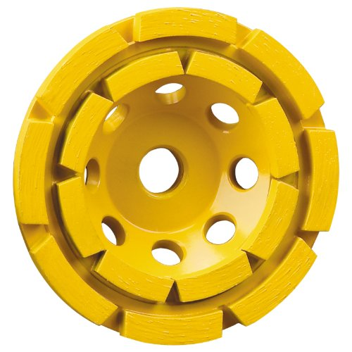 (DEWALT DW4774 4-1/2-Inch Double-Row Diamond-Cup Grinding-Wheel)