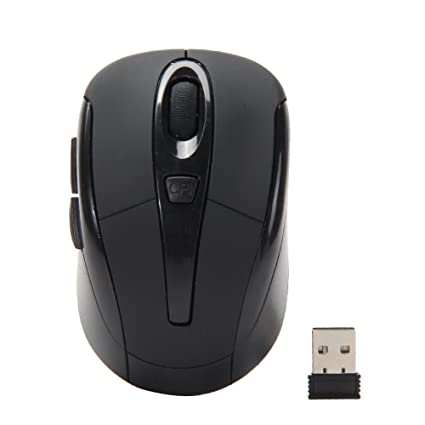 Portable 2.4G Wireless Cordless Optical Mouse Game Mice For Computer PC Laptop
