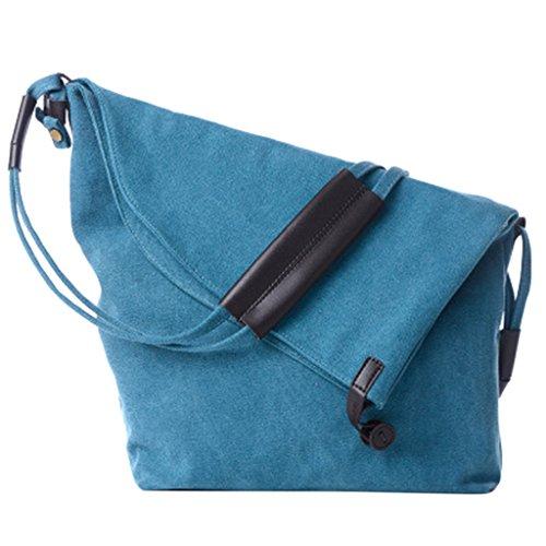 bag JAGENIE a tela messenger borsa estate borse borsa Beige tracolla Blue spiaggia Hobo casual fxgcHPFqwx