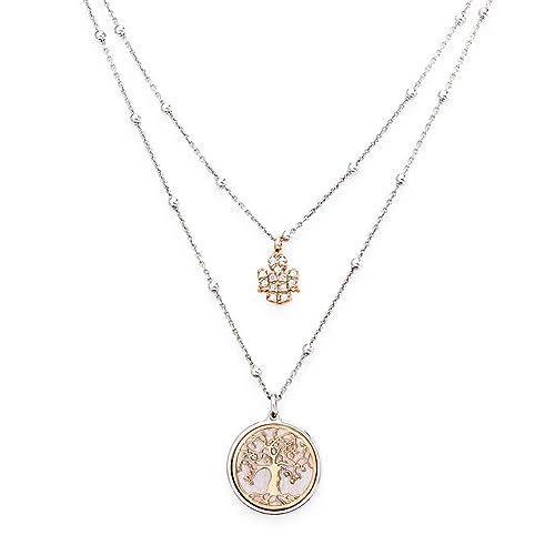 aliexpress Acquista autentico originale più votato collana donna gioielli Amen Albero Della Vita casual cod. CL2AL1