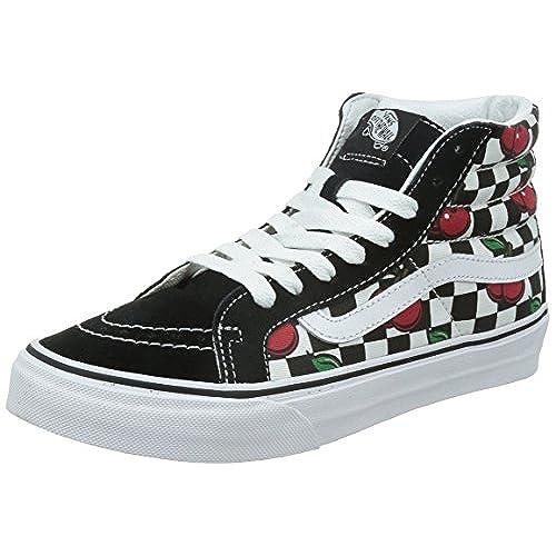 48971377e915 chic Vans Sk8-Hi Slim Women US 9 Black Skate Shoe - artmad.ie