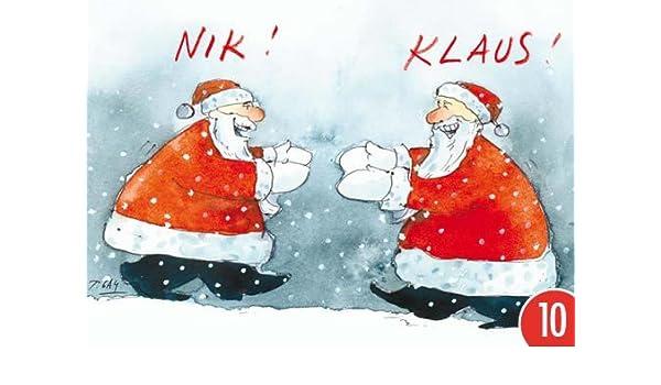 Pack de 10: Postal A6 + + + Navidad de Modern Times + + + NIK ...