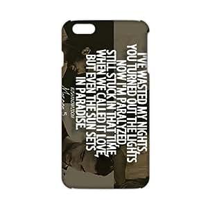 Angl 3D Case Cover Adam Levine Maroon 5 costume Phone Case for iPhone6 plus