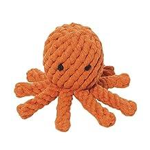 Jax & Bones Jumbo Good Karma Rope Toy, Elton The Octopus 8-Inch
