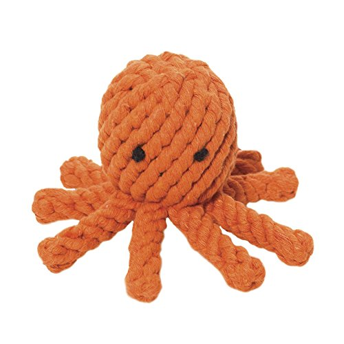 Jax and Bones Good Karma Rope Dog Toy, Elton the Octopus