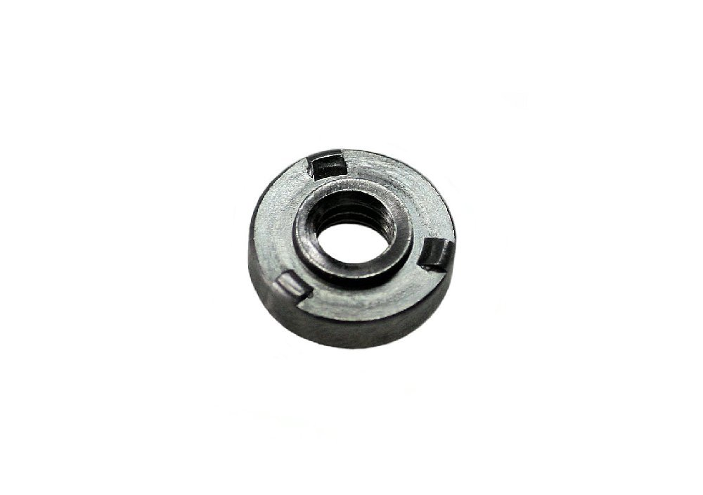 6-32 THD x .030 thk Steel QTY-100 Unicorp EWN-632-0 Round Projection Weld Nut Self-Locating