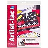 "Grafix KATP811 Artist-Tac Permanent Dry Adhesive Sheets (25 Pack), 8.5"" x 11"""