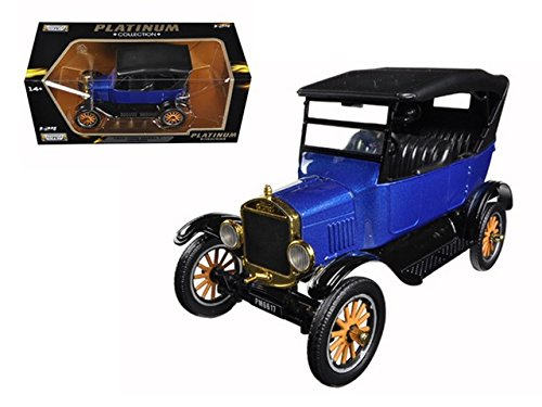 Motormax 79319 1925 Ford Model T Touring Blue 1/24 Diecast Model Car (Ford Diecast Model Car)