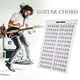 Guitar Chords Poster Guitar Chords Stickers Guitar Cheatsheets Bundle Guitar Reference Poster