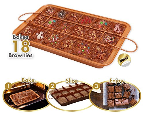 Copper Collection Brownie Pan - Outlet Las Stores Vegas
