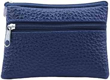 Clearance Sale! ZOMUSA Women s Fashion Hasp Short Card Holder Billfold Purse  Mini Zipper Wallet 01812edeca10c