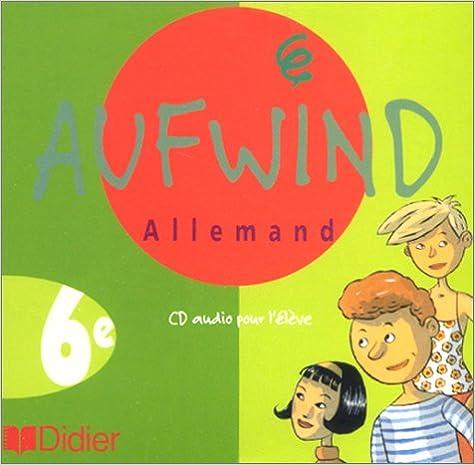 Téléchargement Aufwind : 6ème, pour l'élève (CD audio) pdf, epub