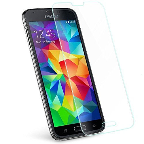 Samsung Galaxy S6 Screen Protector MOUKOU(TM) Tempered Glass Protector Rounded Edges Premium Tempered Glass Screen for Samsung Galaxy S6