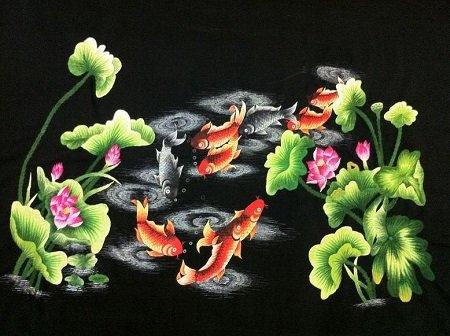 ナインカープの刺繍画像。 B074LW3285