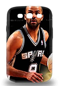 Tpu 3D PC Case Cover For Galaxy S3 Strong Protect 3D PC Case NBA San Antonio Spurs Tony Parker #9 Design ( Custom Picture iPhone 6, iPhone 6 PLUS, iPhone 5, iPhone 5S, iPhone 5C, iPhone 4, iPhone 4S,Galaxy S6,Galaxy S5,Galaxy S4,Galaxy S3,Note 3,iPad Mini-Mini 2,iPad Air )