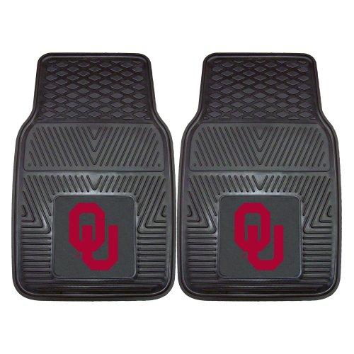 FANMATS NCAA University of Oklahoma Sooners Vinyl Heavy Duty Car Mat (Vinyl Duty Ncaa Heavy)