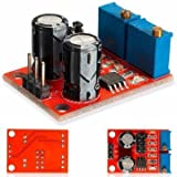 Frequency Generator Module Frequency Modulation System - 10pcs NE555 Pulse Frequey Duty Cycle Adjustable Module Square Wave Signal Generator Stepper Motor Driver ( Radio Frequency Module)