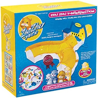 Zhu Zhu Pets Y INTERSECTION Hamster Toll Booth Add On Toy Play Set Accessory NEW