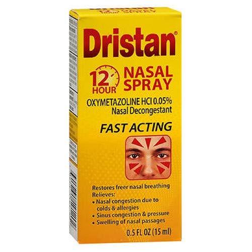 Dristan 12-Hour Nasal Spray 0.50 oz (Pack of 3)