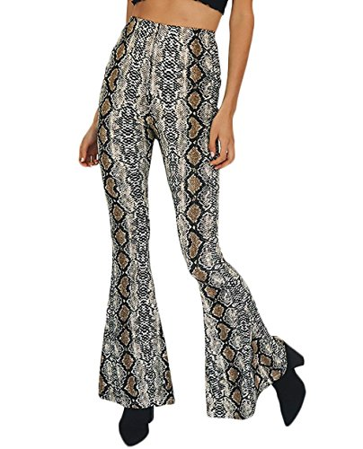 Primaverile Pantalone Larghi High Libero Grau Tempo Pants Pants Autunno Vintage Pantaloni Moda Eleganti Chic Donna Pantaloni Colpo Cute Stampato Waist q1ERwxwF