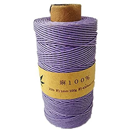 Cordel de c/á/ñamo 1/mm 130/m 100/gramos 430/C/á/ñamo de pies Blue//White