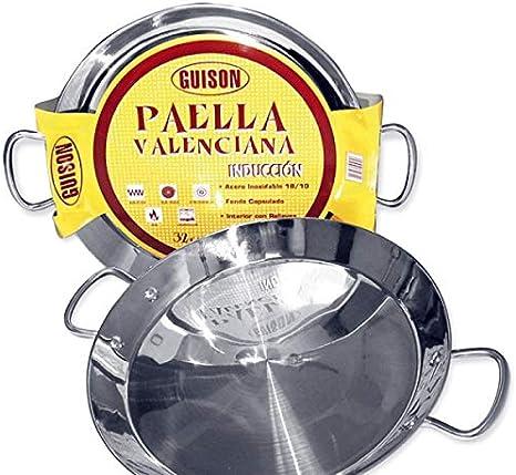 Guison 74046 Paella Valenciana Acero Inoxidable Inducción ...