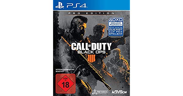 Call of Duty: Black Ops 4 - Pro Edition - PlayStation 4 ...