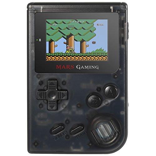 Mars Gaming MRB, Consola Retro, 151 Juegos Instalados, Micro SD, Negro a buen precio