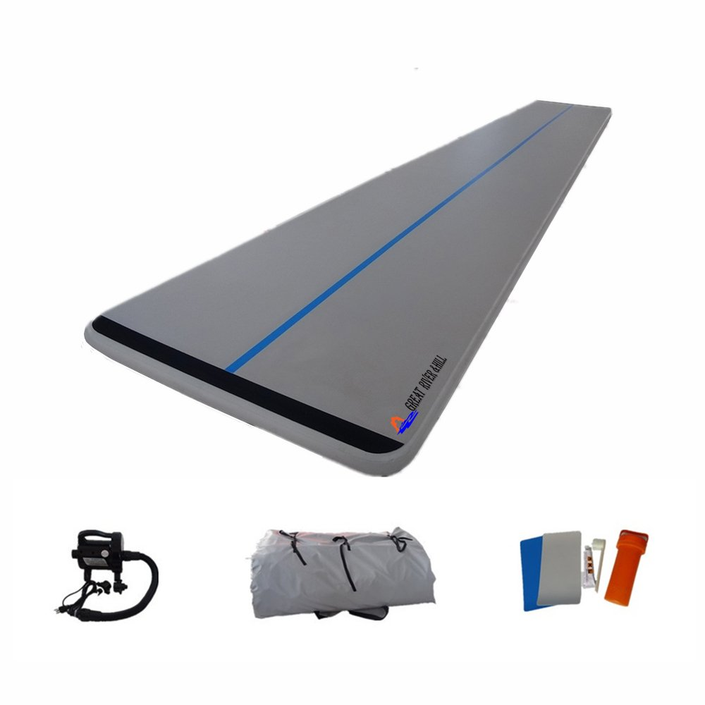 Amazon.com : WATER BOARD Inflatable Air Floor Inflatable Tumbling Mat for Gymnastics, Training Mat 33 Feet : Sports & Outdoors