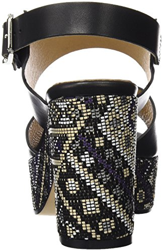 Gadea 40585, Women's Sandals with an Ankle Strap Black