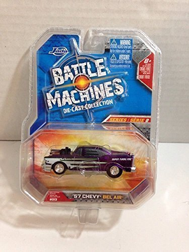 Battle Machines Die-Cast Collection: '57 Chevy Bel Air - Scale Diecast Battle Machines