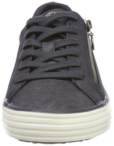 Sneaker Damen 21 23615 Oliver s Antic 813 Blau Navy Fq5IU