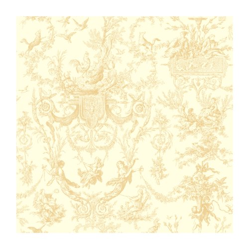 Floral Toile Wallpaper - 6