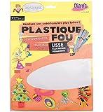 Diam's DI42263  Feuilles Plastique Fou Blanc 29,7 x 21,6 x 0,1 cm Lot de 7