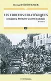 Image de Les erreurs stratégiques pendant le Première Guerre mondiale (French Edition)