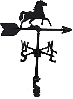 product image for Montague Metal Products 24-Inch Weathervane with Horse Ornament
