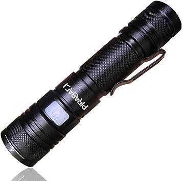 Lampe Torche LED Puissante Militaire 1000 LM Lampe de Poche