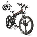 513WDm2wGTL. SS150 urbetter Bici Elettrica Pieghevole, 48V 400W Motore velocità Massima 45 km/h, Batteria 7.5Ah, 14 Pollici Bicicletta…