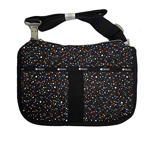 (LeSportsac Essential Hobo, Composition Black)