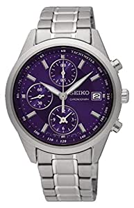 Seiko Womens Quartz Watch, Analog Display and Stainless Steel Strap SNDV53P1