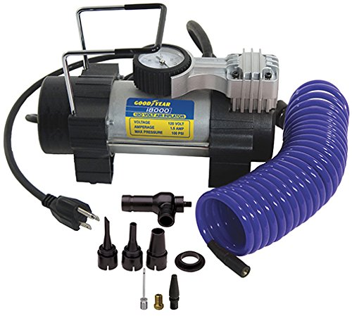 Goodyear i8000 120-Volt Direct Drive Tire Inflator - coolthings.us