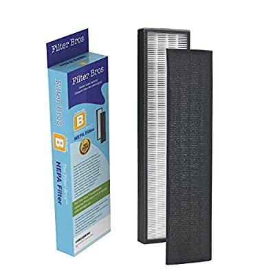 FLT4825 True HEPA Replacement Filter B for GermGuardian AC4825 Home Air Cleaner Purifiers, AC4300BPTCA / AC4850PT with Pet Technologies, AC4900CA Systems Captures Allergies / Pets / Germ / Smokers