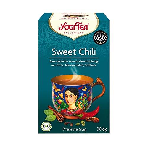 - Yogi Tea - Sweet Chili Mexican Spice - 30.6g