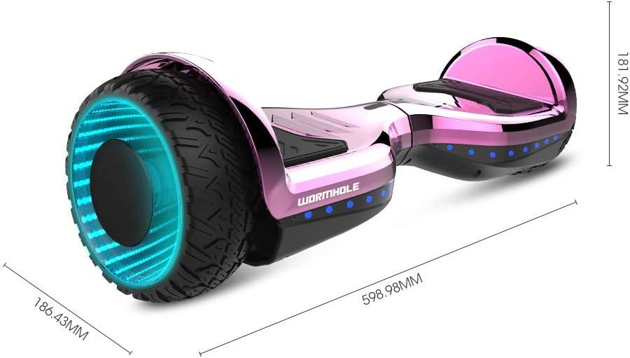 Amazon.com: WORMHOLE patinete eléctrico de doble motor para ...