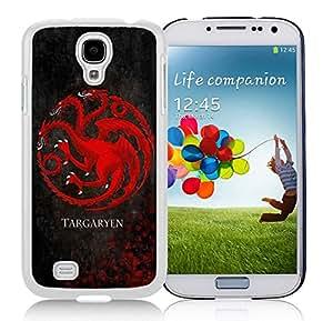 New Unique DIY Antiskid Skin Case For Samsung S4 Game of throne Samsung Galaxy S4 White Phone Case 163