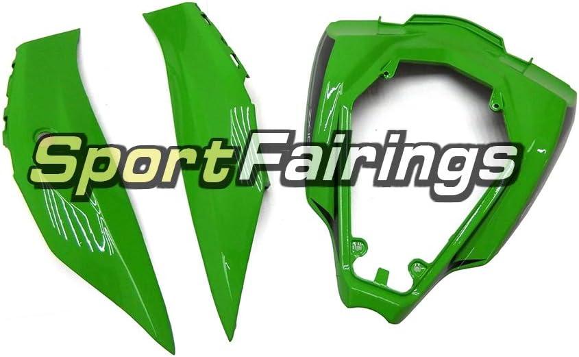 Sportfairings Complete Fairing Kit For ZX10R ZX-10R 2016-2017 16-17 Bodywork Black Green Bodywork