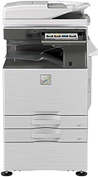 Amazon Com Sharp Mx 3070v Color Laser Multifunction Printer Sra3 A3 A4 A5 30ppm Print Copy Scan Duplex 1200 X 1200 Dpi Network 2 Trays Stand Electronics