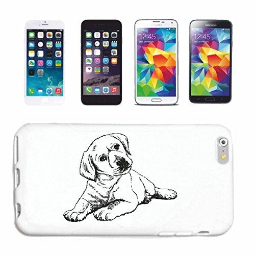 """cas de téléphone iPhone 6S """"LABRADOR CHIEN ELEVAGE MAISON CHIENS KENNEL ÉLEVEURS PUPPY FORMATION CARE"""" Hard Case Cover Téléphone Covers Smart Cover pour Apple iPhone en blanc"""