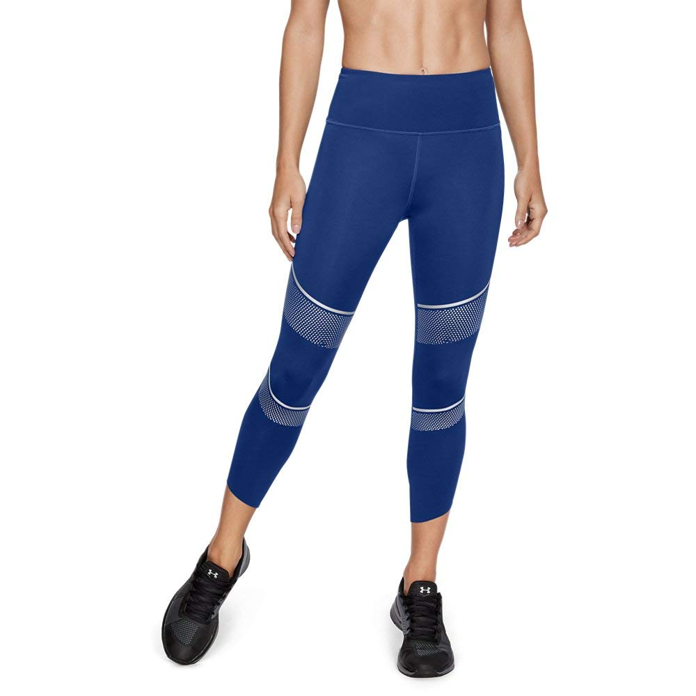 Under Armour UA Breathelux Metallic Crop MD Formation Blue by Under Armour (Image #1)