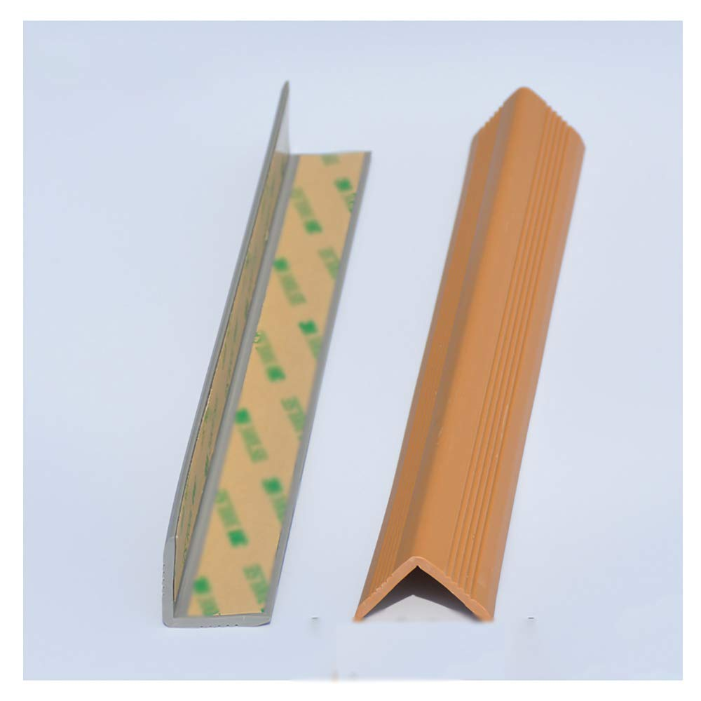Anti-Collision Protection Strips Anti-Collision Children's Anti-Collision Strips Widened Thickened Anti-Collision Corner Kindergarten Anti-Collision Table Corners Light Brown,one Meter Long 3 Packs